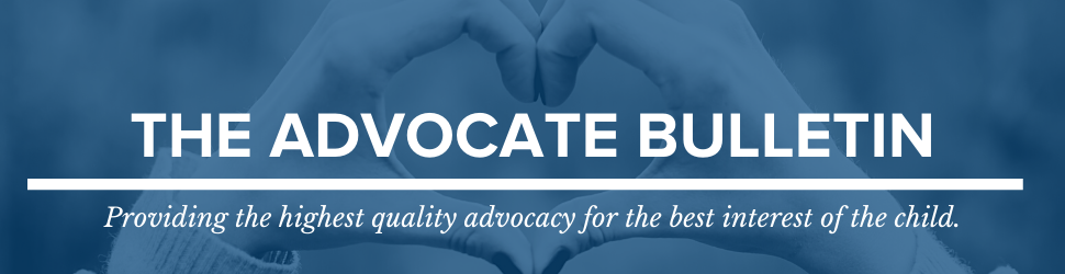 The Advocate Bulletin header